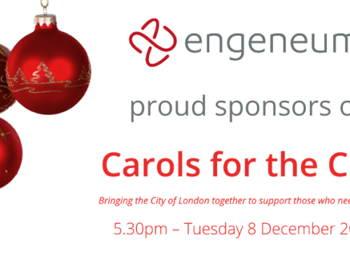 Engeneum are proud to sponsor Carols for the City 2020